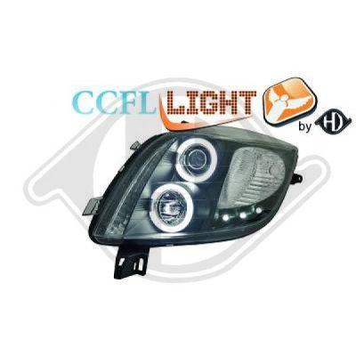 Bloc-optique, projecteurs principaux - HDK-Germany - 77HDK6606581