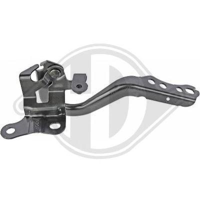 Charnière, capot-moteur - Diederichs Germany - 6607018