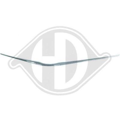 Baguette et bande protectrice, grille de radiateur - Diederichs Germany - 6607041