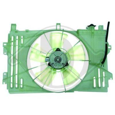 Ventilateur, refroidissement du moteur - Diederichs Germany - 6618101