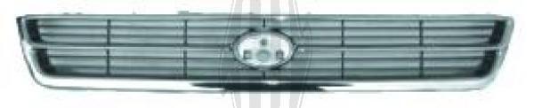 Grille de radiateur - Diederichs Germany - 6622040