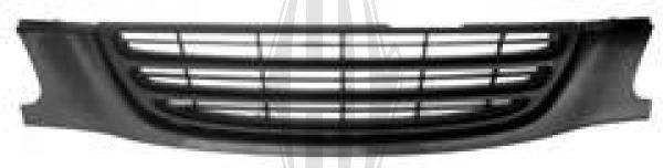Grille de radiateur - Diederichs Germany - 6623040