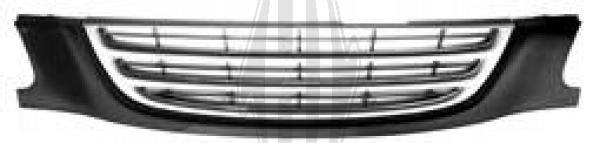 Grille de radiateur - Diederichs Germany - 6623041