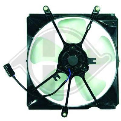 Ventilateur, condenseur de climatisation - Diederichs Germany - 6623101