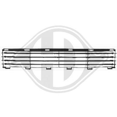 Grille de ventilation, pare-chocs - HDK-Germany - 77HDK6635040