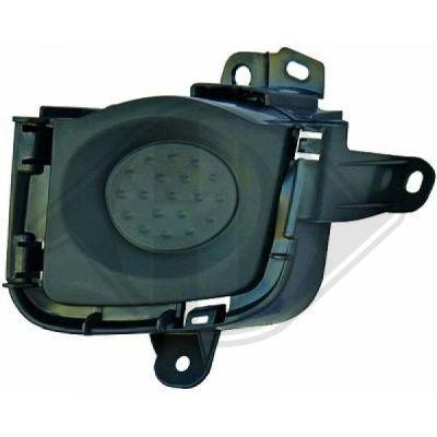 Grille de radiateur - HDK-Germany - 77HDK6636040