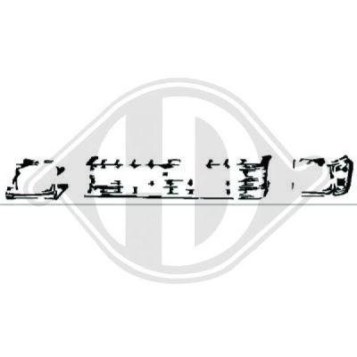 Grille de radiateur - Diederichs Germany - 6640040