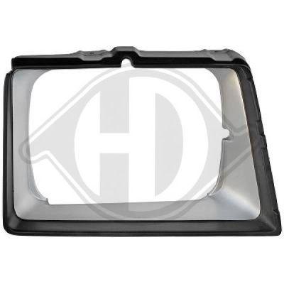Grille de radiateur - HDK-Germany - 77HDK6641043