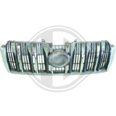 Grille de radiateur - HDK-Germany - 77HDK6675842