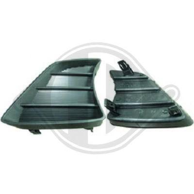 Grille de ventilation, pare-chocs - HDK-Germany - 77HDK6685848