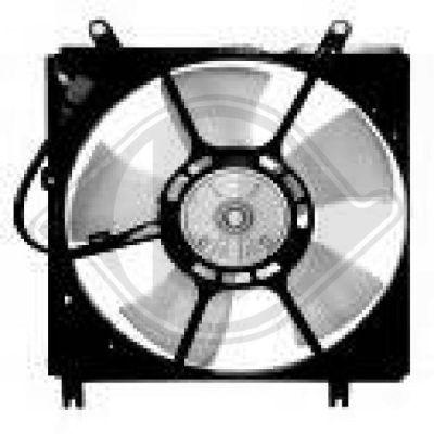 Ventilateur, refroidissement du moteur - Diederichs Germany - 6686101
