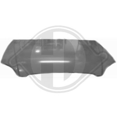 Capot-moteur - Diederichs Germany - 6821000