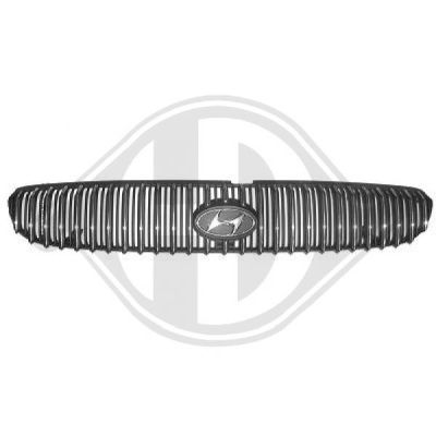 grille de radiateur hdk germany 77hdk6821040 amapiece. Black Bedroom Furniture Sets. Home Design Ideas