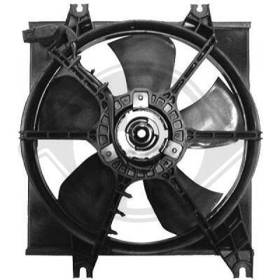Ventilateur, refroidissement du moteur - Diederichs Germany - 6832101