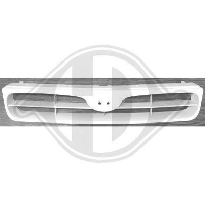 Grille de radiateur - Diederichs Germany - 6839140