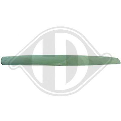Baguette et bande protectrice, grille de radiateur - Diederichs Germany - 6843141