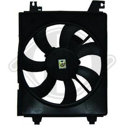 Ventilateur, condenseur de climatisation - HDK-Germany - 77HDK6846001