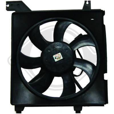 Ventilateur, refroidissement du moteur - HDK-Germany - 77HDK6846101