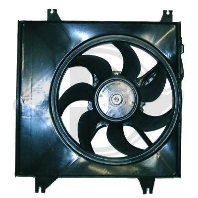 Ventilateur, refroidissement du moteur - Diederichs Germany - 6851001