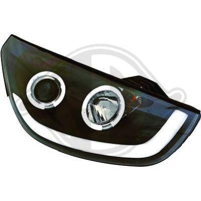 Bloc-optique, projecteurs principaux - Diederichs Germany - 6861385