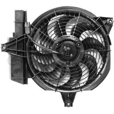Ventilateur, condenseur de climatisation - Diederichs Germany - 6870101