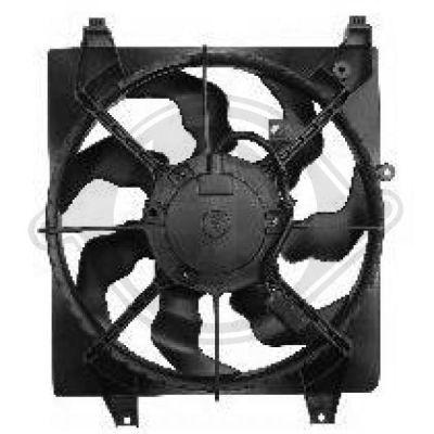 Ventilateur, refroidissement du moteur - Diederichs Germany - 6871101