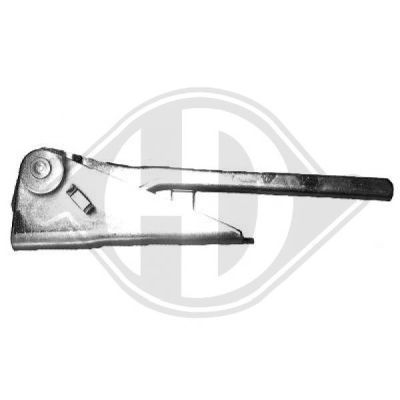 Charnière, capot-moteur - HDK-Germany - 77HDK6882819