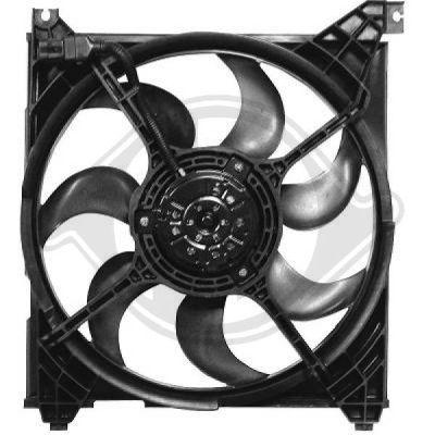 Ventilateur, refroidissement du moteur - Diederichs Germany - 6885901