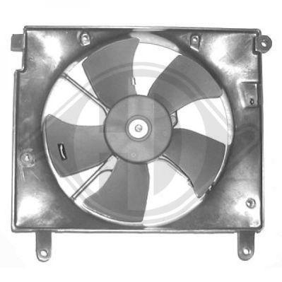 Ventilateur, refroidissement du moteur - Diederichs Germany - 6910701