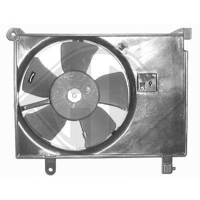 Ventilateur, condenseur de climatisation - Diederichs Germany - 6920001