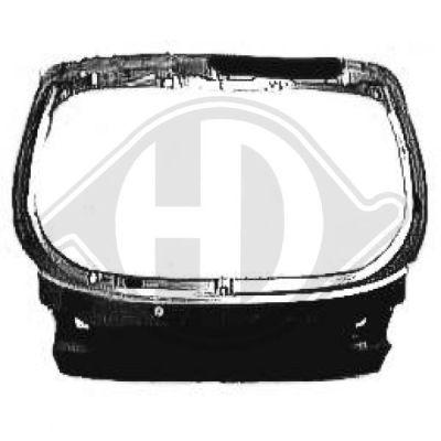 Couvercle de coffre à bagages/de compartiment de chargement - Diederichs Germany - 6920029