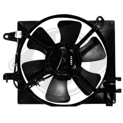 Ventilateur, refroidissement du moteur - Diederichs Germany - 6930201