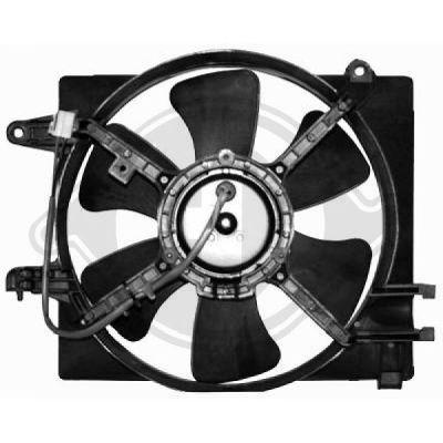 Ventilateur, refroidissement du moteur - Diederichs Germany - 6930202