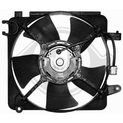 Ventilateur, refroidissement du moteur - Diederichs Germany - 6931201
