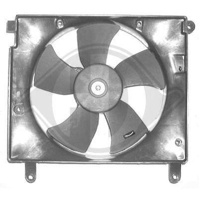 Ventilateur, refroidissement du moteur - Diederichs Germany - 6940101