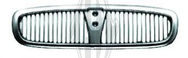 Grille de radiateur - Diederichs Germany - 7020040