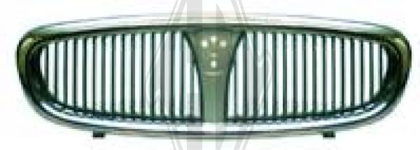 Grille de radiateur - Diederichs Germany - 7021040