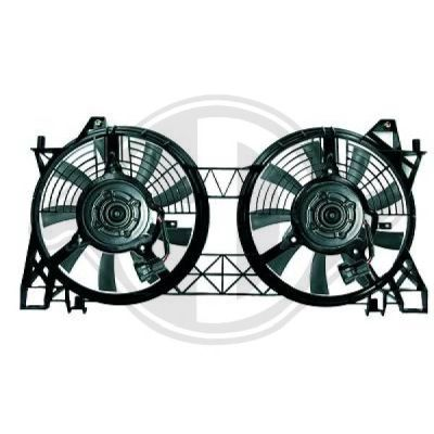 Ventilateur, condenseur de climatisation - HDK-Germany - 77HDK7030001