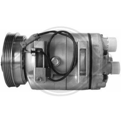 Compresseur, climatisation - Diederichs Germany - 7101601