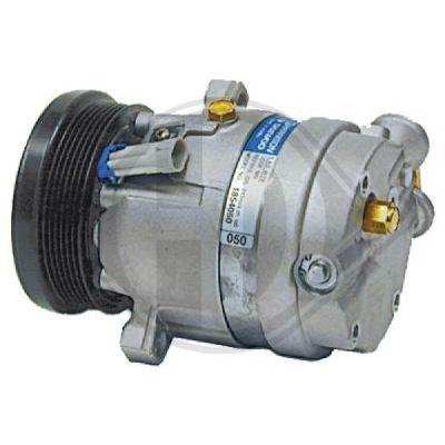 Compresseur, climatisation - Diederichs Germany - 7184400