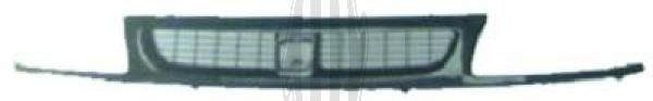 Grille de radiateur - Diederichs Germany - 7422040