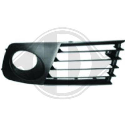 Grille de ventilation, pare-chocs - Diederichs Germany - 7425048