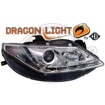 Bloc-optique, projecteurs principaux - HDK-Germany - 77HDK7426285