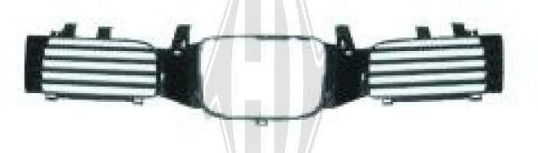 Grille de radiateur - HDK-Germany - 77HDK7431040