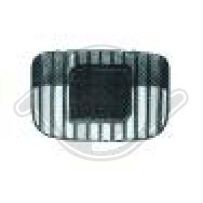 Grille de radiateur - HDK-Germany - 77HDK7431047