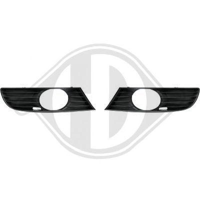 Grille de ventilation, pare-chocs - Diederichs Germany - 7431149