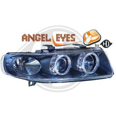 Bloc-optique, projecteurs principaux - HDK-Germany - 77HDK7431580