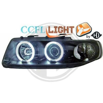Bloc-optique, projecteurs principaux - HDK-Germany - 77HDK7431581
