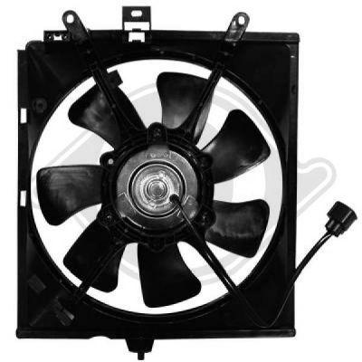 Ventilateur, refroidissement du moteur - Diederichs Germany - 7613101