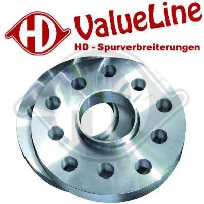 Ecartement des roues élargi - Diederichs Germany - 7780001